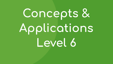 Concepts & Applications Level 6