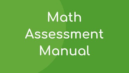 Acadience Math Assessment Manual