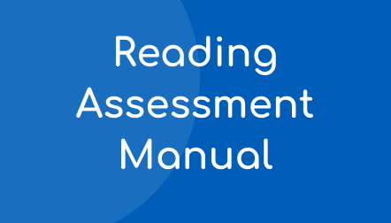 Acadience Reading Assessment Manual