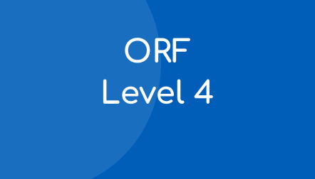 ORF Progress Monitoring Student Materials – Level 4